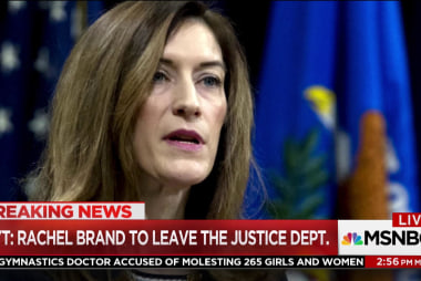 DOJ official Rachel Brand steps down, What does this mean for Mueller investigation?