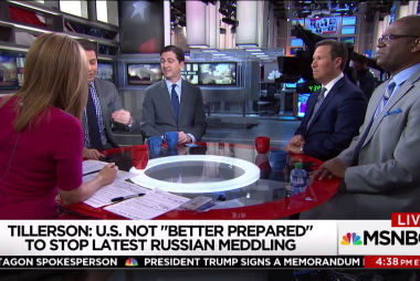 Is the U.S. giving up on thwarting Russian meddling?