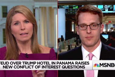 Standoff at Panama Trump hotel prompts new conflicts of interest scrutiny