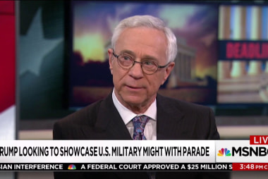 "Col. Jacobs on Military parade: ""troops hate doing it"""