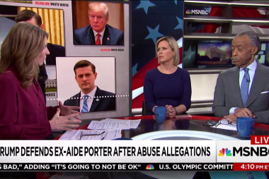 "Why the WH handling of Rob Porter allegations is ""appalling on every level"""