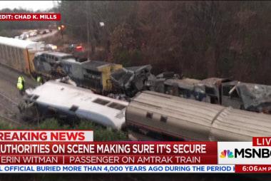 Amtrak derailment passenger recounts terrifying crash in Cayce, SC