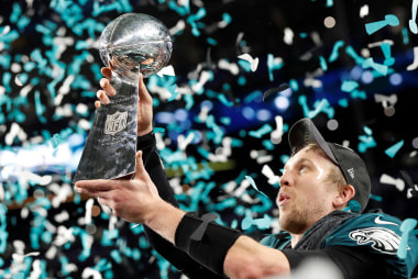Eagles beat Patriots to win Super Bowl LII