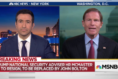 Blumenthal: Trump tapping Bolton 'points to danger signals'