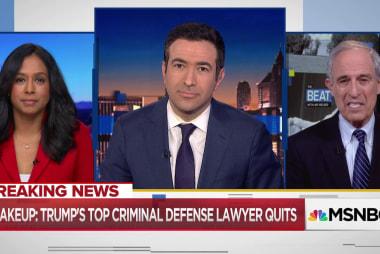 Trump scrambling legal team in sign of Mueller showdown