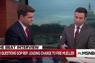 GOP Congressman confronted over how Trump firing Mueller could be illegal