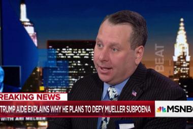 Sam Nunberg: Mueller probing Trump's business