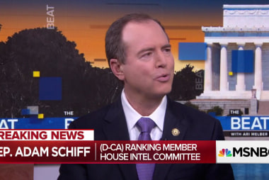 """Schiff: """"Indications"""" Trump hiding materials on Comey discussions"""