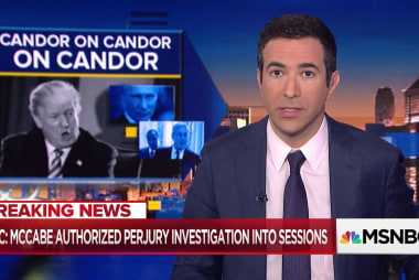 Fired FBI Official authorized perjury investigation against Sessions