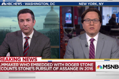 "Roger Stone Filmmaker: We ""prepared"" to meet Assange in London in 2016"