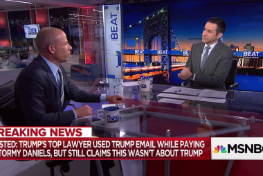 """Stormy Daniels' lawyer: """"ludicrous"""" to think Trump lawyer worked alone"""