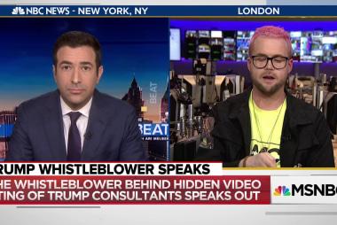 Whistleblower: Trump firm warned in 2016 foreign work may break U.S. law