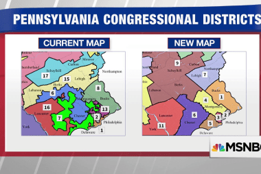Supreme Court won't block new Pennsylvania congressional map