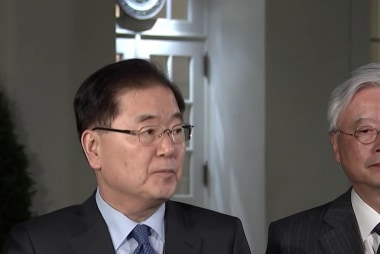 North Korea, South Korea to hold talks, Trump invited
