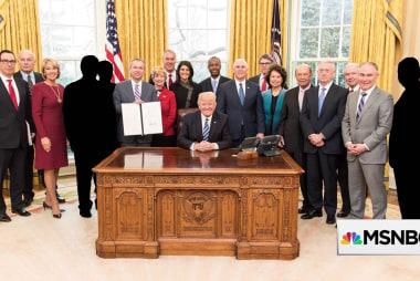A quarter of Trump's 'genius cabinet' already gone