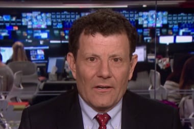 Kristof: With Bolton, we could face another war