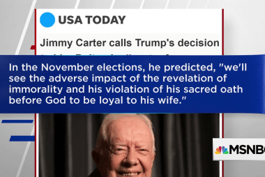 Jimmy Carter: We'll see Trump's problems impact 2018 elections
