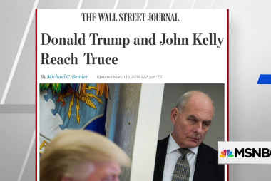WSJ: Trump and Kelly reach a 'temporary truce'