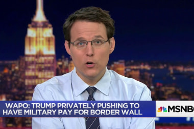 WaPo: Trump wants the military to fund the wall
