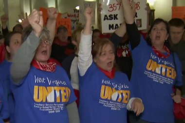 West Virginia teachers on strike for seventh day
