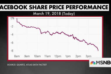 Facebook critics calling for regulation as stock falls