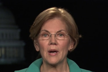 Sen. Warren: I want to see a Dem. Party that picks fights