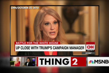 Kellyanne Conway's husband trolls Trump on Twitter