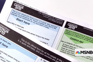 'They're turning the census into a weapon of voter suppression'
