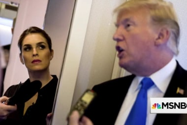 Hope Hicks admits white lies. Mueller could reveal more
