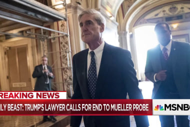 More: Trump lawyer states Mueller probe should end