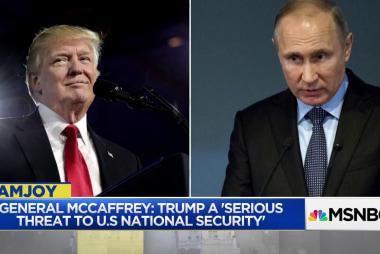Gen. McCaffrey: Trump apparently 'under sway of Putin'