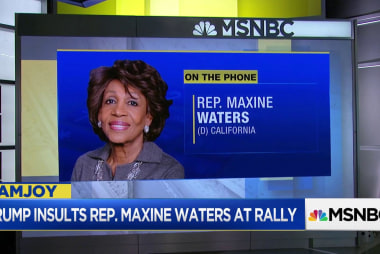 Rep. Waters: If Mueller doesn't get Trump, Stormy will