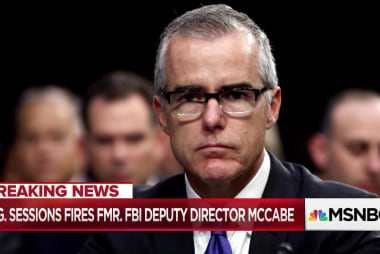 Attorney General Jeff Sessions fires Andrew McCabe
