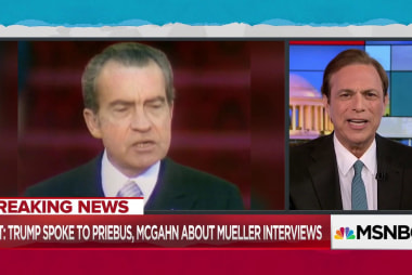 Trump risks following Nixon mistake in talking with witnesses