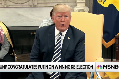Against advice, Trump congratulates Putin on sham election win: WaPo