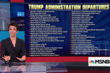 Trump admin departure list grows, but what of those remaining?