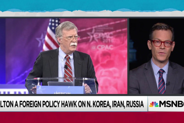 Colin Kahl: John Bolton believes that Trump should only meet with Kim Jong-un to get on with the bombing of North Korea