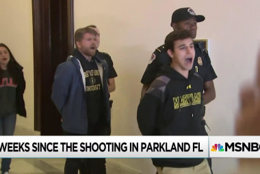 Florida advances gun bill; protests move to Mitch McConnell