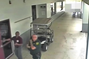 Police release surveillance video from Parkland shooting