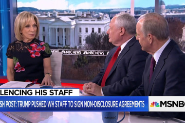 "Fmr. Chief of Staff: WH non-disclosure agreements ""unimaginable"""