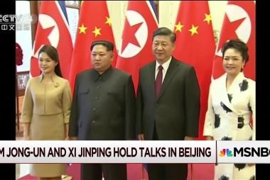 Kim Jong Un makes first foreign trip as leader