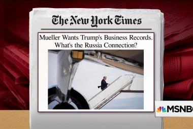Mueller seeks records from Trump Organization