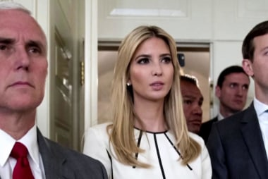 Could Ivanka choose between her father and Kushner?
