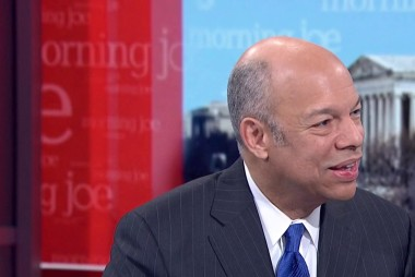 Jeh Johnson: The Trump WH turnover can't be overstated