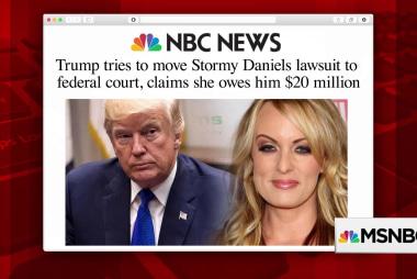 Trump tries to keep Daniels legal battle private