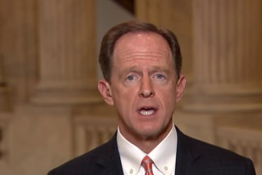 Sen. Toomey: 'Due process' remark took my breath away