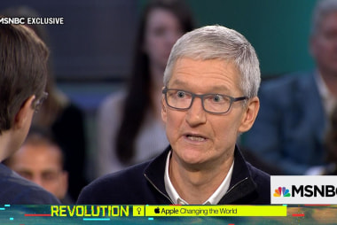 Apple CEO Tim Cook: DACA situation 'is a moral issue'