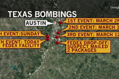 Fmr. ATF special agent: Important question in Austin bombings, 'Who is the package addressed to?'