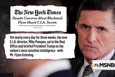 Could Pompeo's Flynn interactions hinder confirmation as Secy. of State?