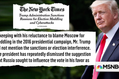 Trump's admin. (finally) sanctions Russia but how does he feel about it?